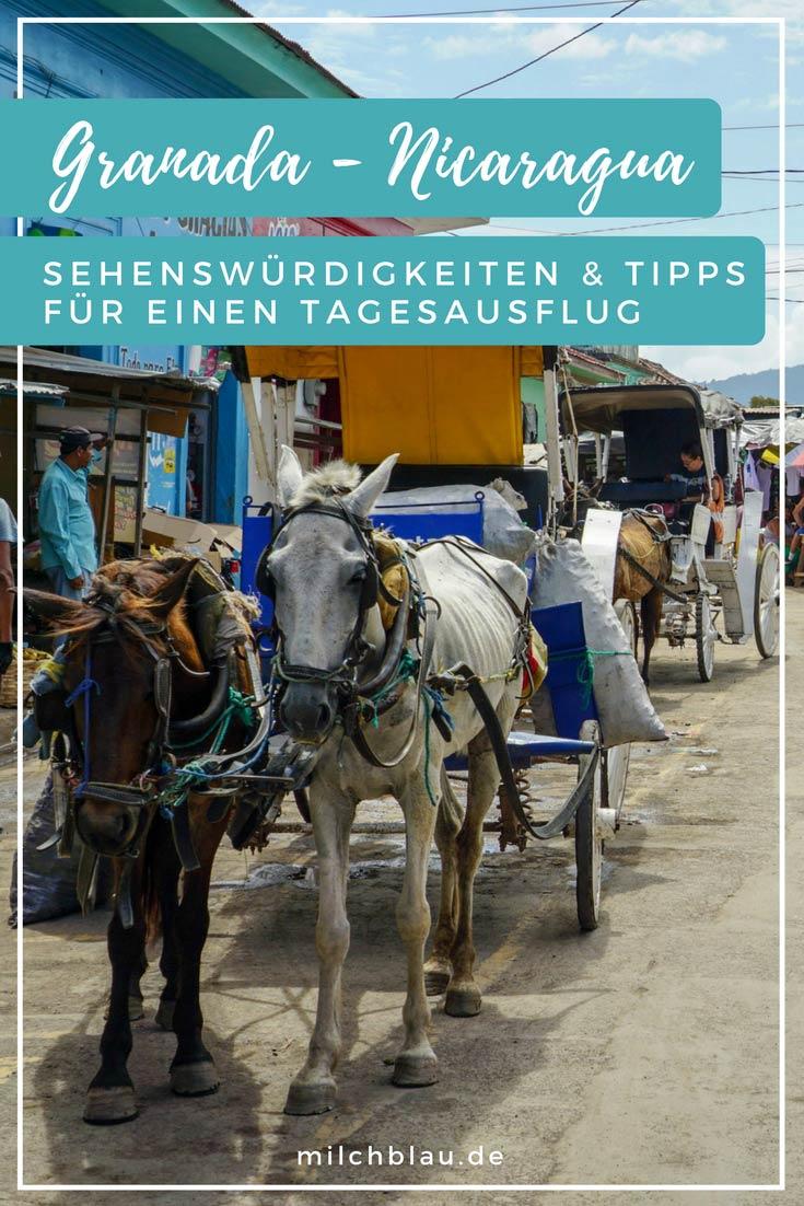Charaktervolles Granada in Nicaragua: Sehenswürdigkeiten, Infos & Tipps für einen Tagesausflug in die Region.