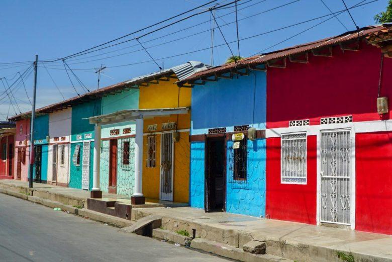 bunte Häuser in Granada, Nicaragua
