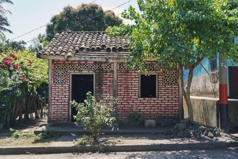 Häuser auf Ometepe
