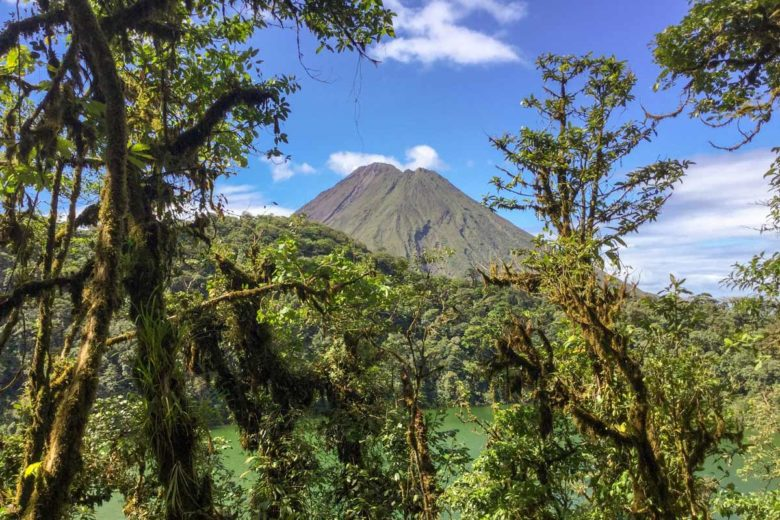 Ausblick auf den Vulkan Arenal vom Cerro Chato