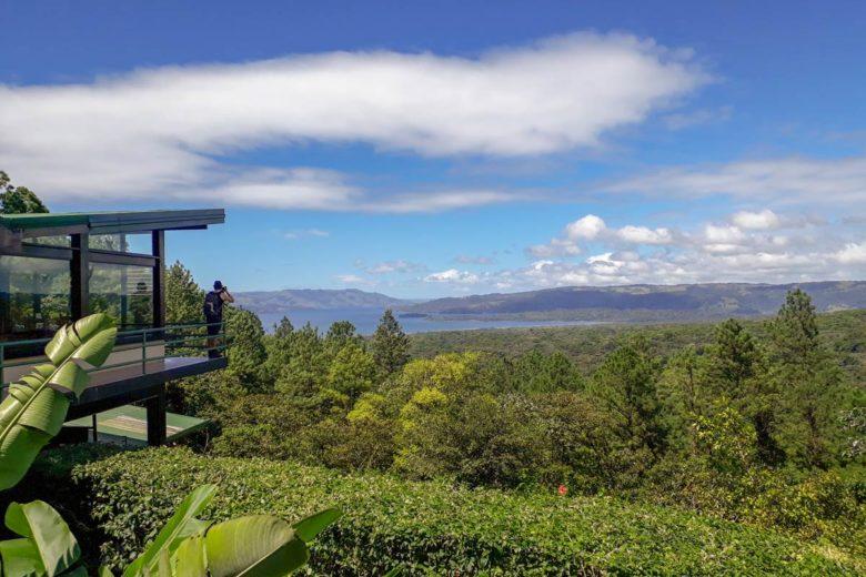 Ausblick von der Observatory Lodge