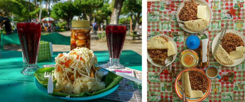 Essen Costa Rica und Nicaragua
