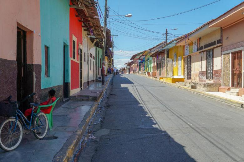 Straßen in Granada - Nicaragua