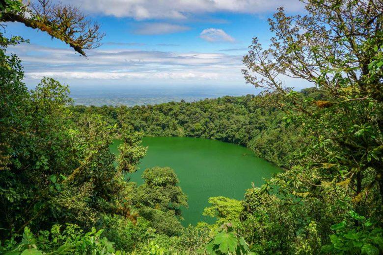 Kratersee des Cerro Chato