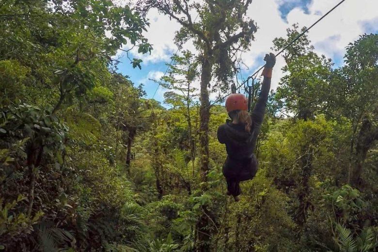 Ziplinig in Monteverde