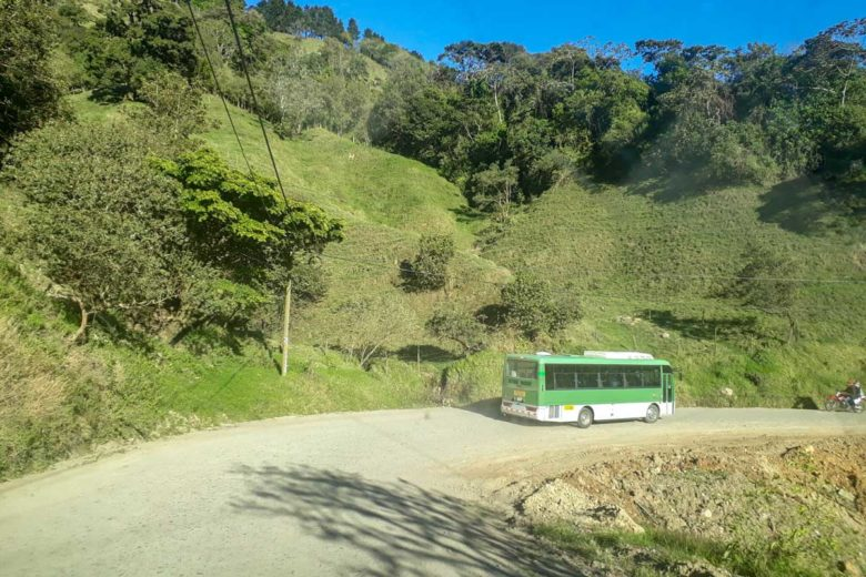 Staubige Straßen nach Monteverde