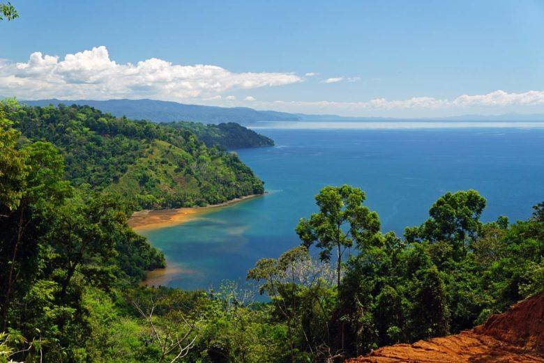 Ausblick auf den Golfo Dulce - Costa Rica