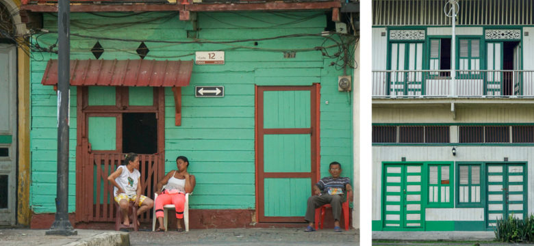 Bewohner in Casco Viejo