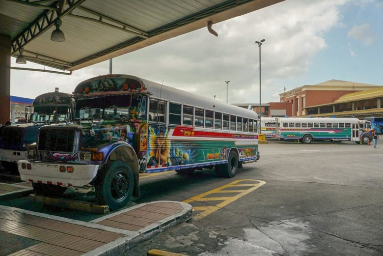 Chicken Bus Panama City