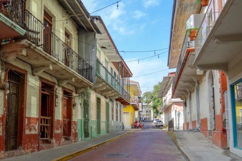 Straßen in Casco Viejo