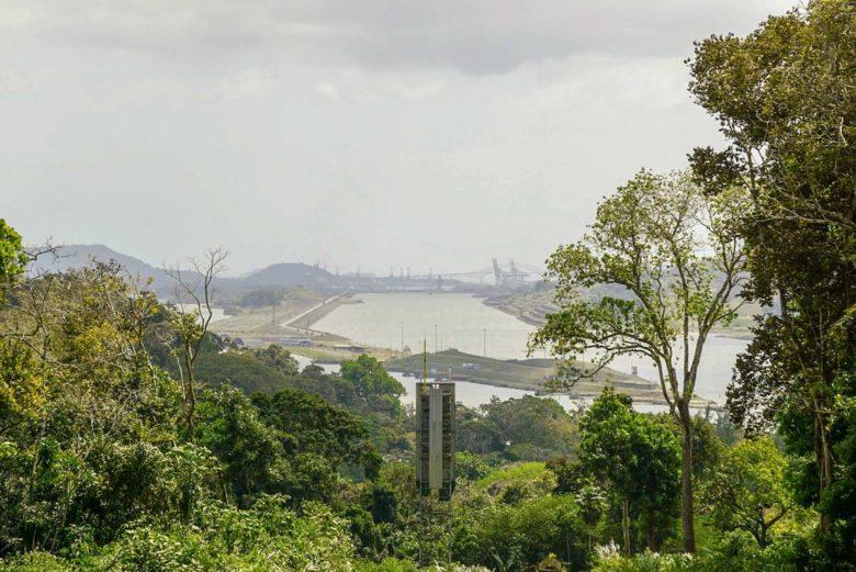 Panamakanal Aussichtspunkt Paraiso