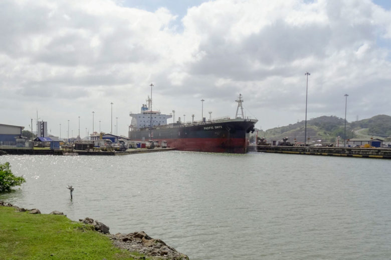 Panamakanal Pedro Miguel Schleuse