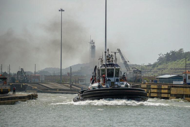 Panamakanal Schlepper