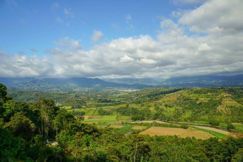 Landschaft Panamericana Costa Rica