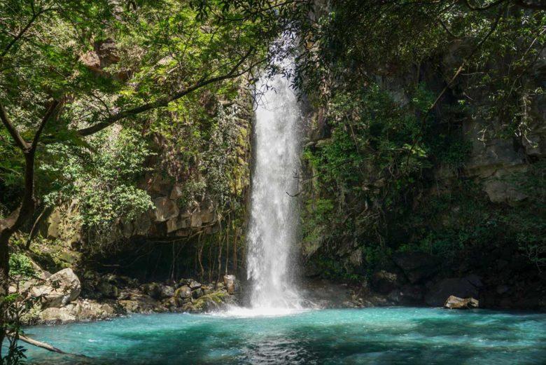La Cangreja Wasserfall - Rincón de la Vieja NP
