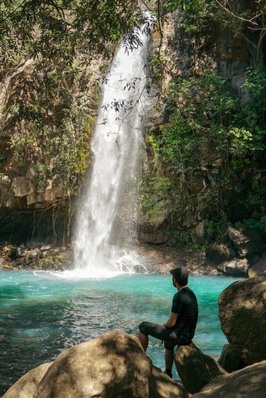 La Cangreja Wasserfall