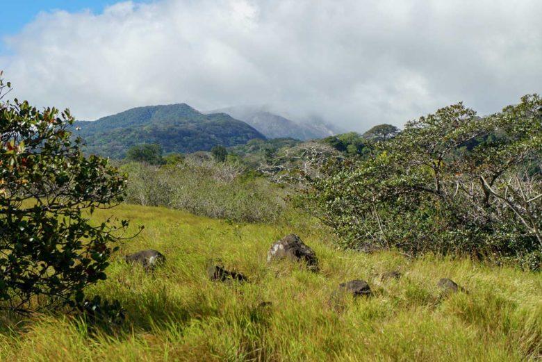 Ausblicke beim Wandern im Rincon de la Vieja Nationalpark