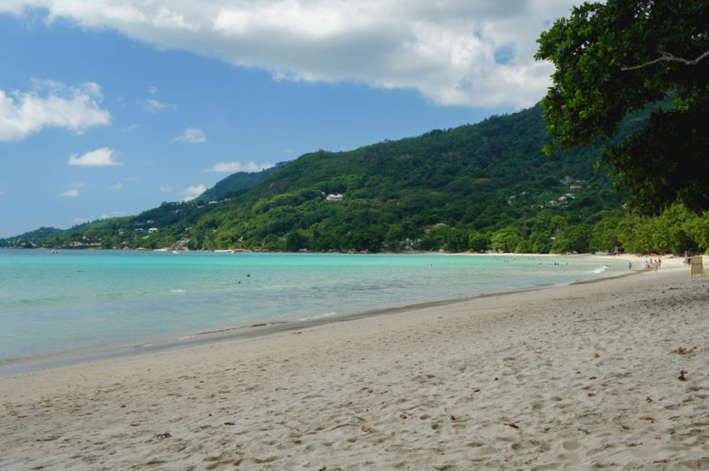 Beau Vallon Strand auf Mahé - Seychellen