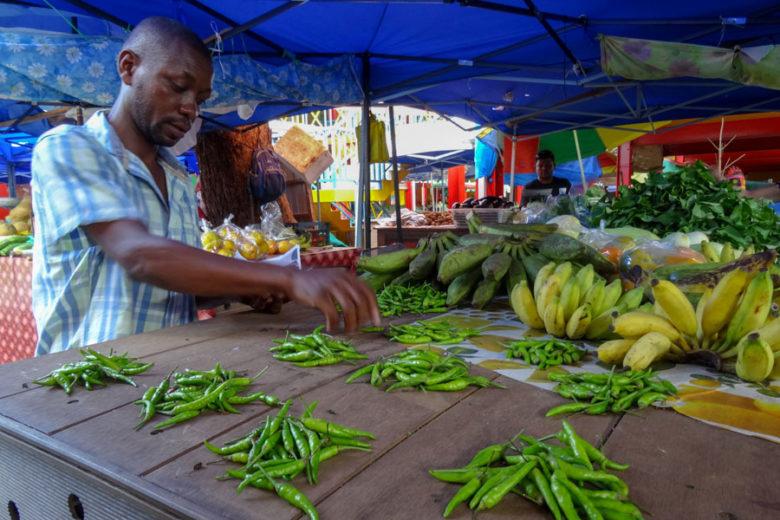 Sir Selwyn Selwyn Clarke Market Seychellen