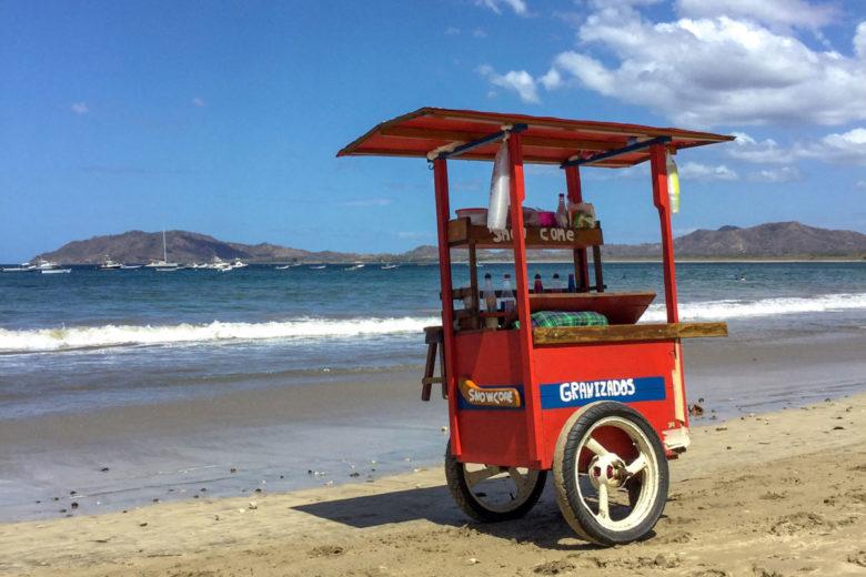 Eiswagen am Tamarindo Beach