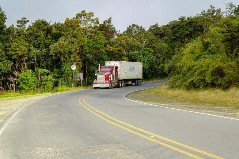 Trucks auf der Panamericana Costa Rica