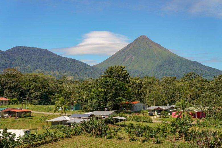 Blick auf Vulkan Arenal