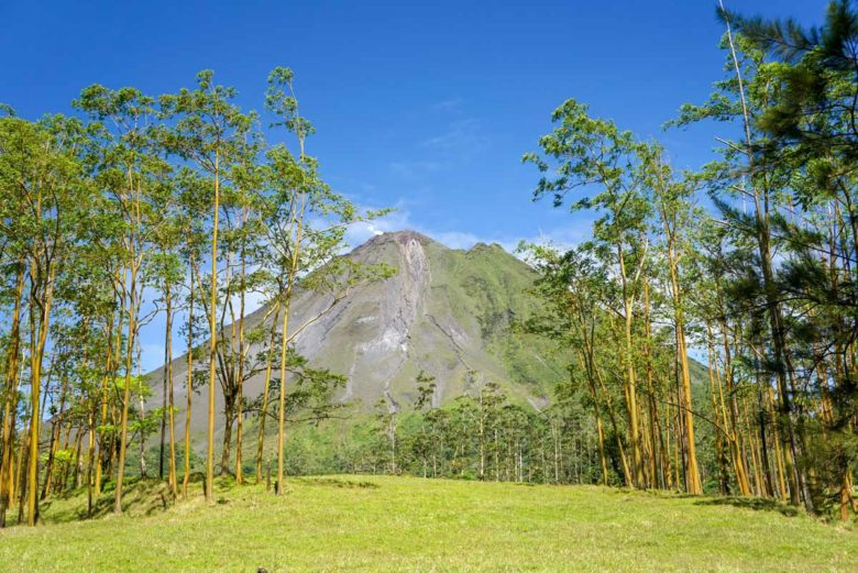 Vulkan Arenal von der Observatory Lodge