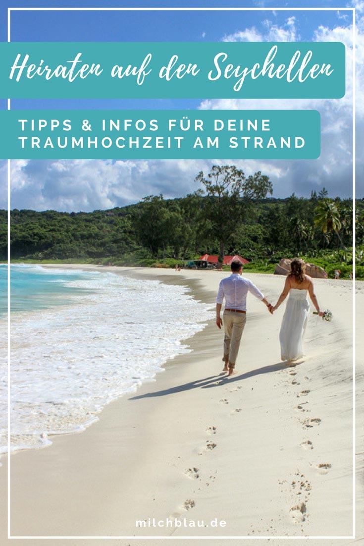 Heiraten auf den Seychellen - Unsere Tipps & Infos für eine Traumhochzeit am Strand.