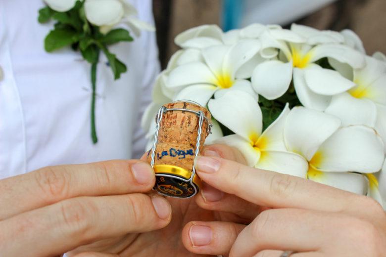 Andenken Hochzeit Seychellen