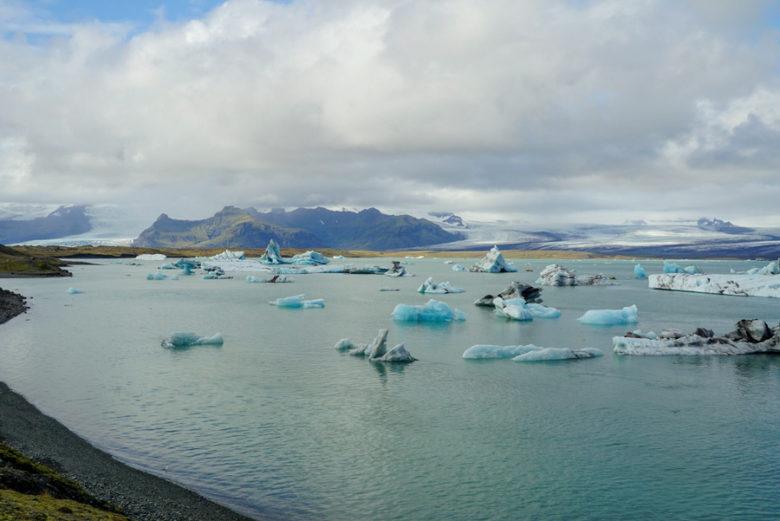 Eisschollen in der Jökulsarlon Lagune