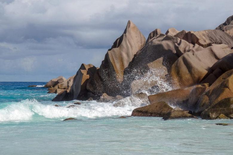 Granitfelsen Petit Anse - La Digue