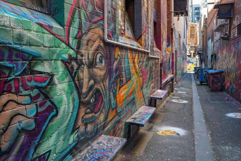 Street Art - Croft Alley in Melbourne