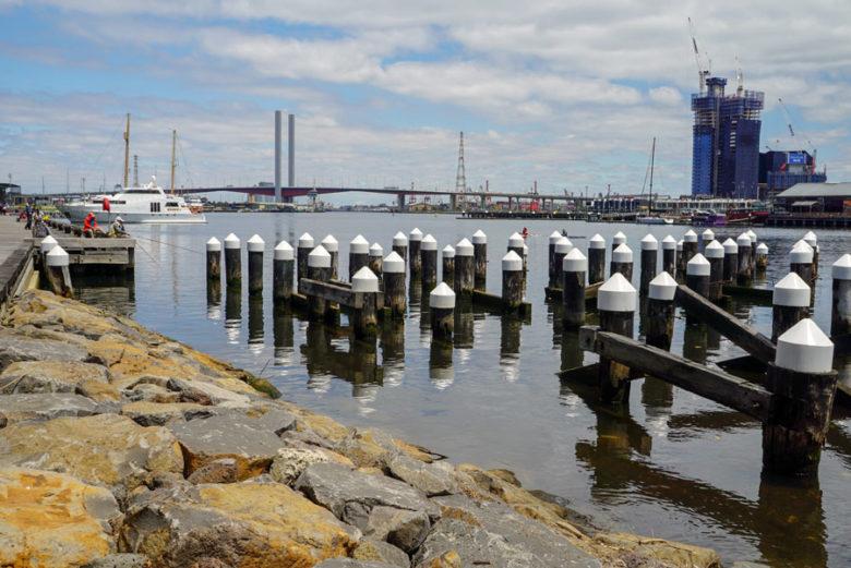 Dockland in Melbourne Australien