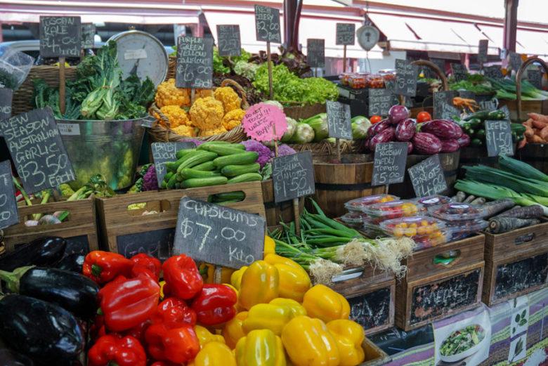 Queen Victora Market in Melbourne Australien