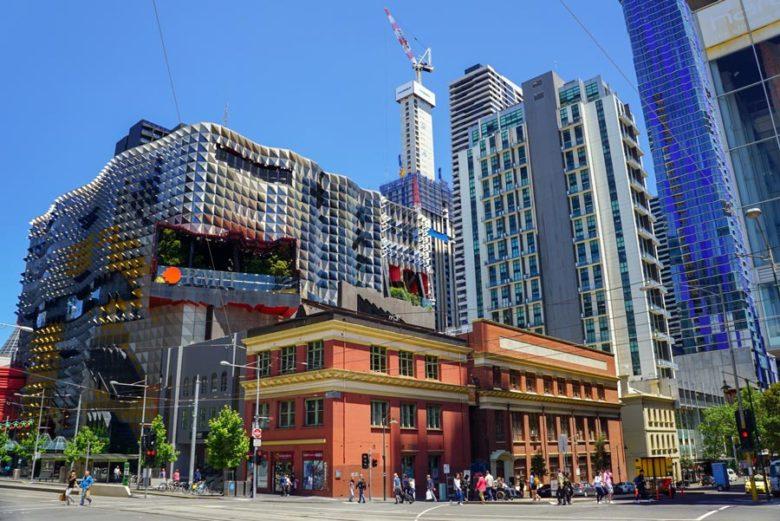 City of Melbourne Australien
