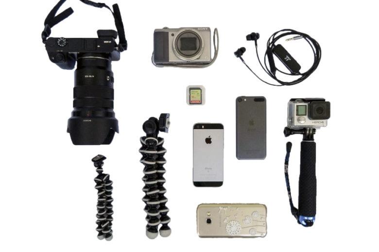Packliste Kamera und Elektronik Sommerurlaub