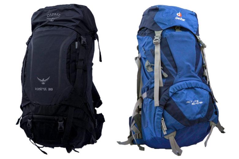 Packliste Rucksäcke Reise Sommer