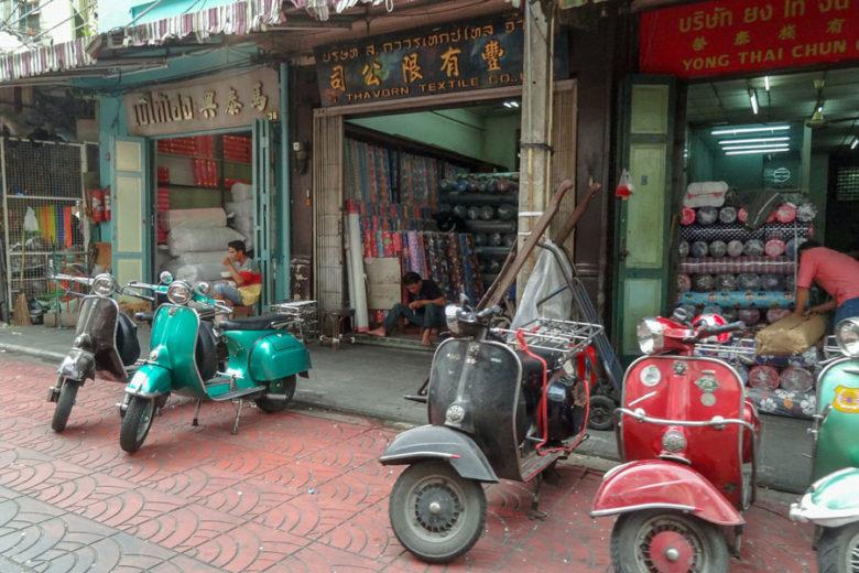 Bangkok Highlights Chinatown Shops