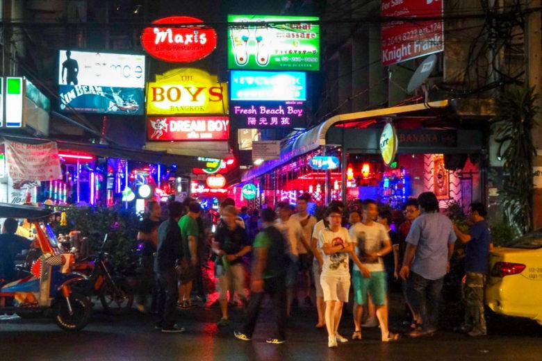 Rotlichtviertel Patpong Bangkok