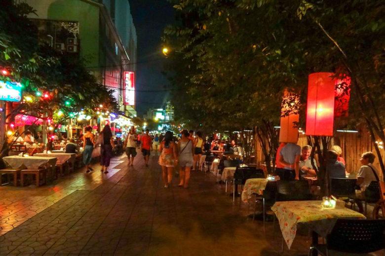 Soi Rambuttri Bangkok Backpacker-Viertel