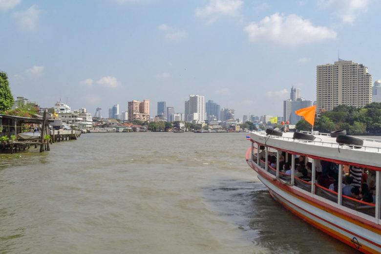 Bangkok Sehenswürdigkeiten Chao Phraya River