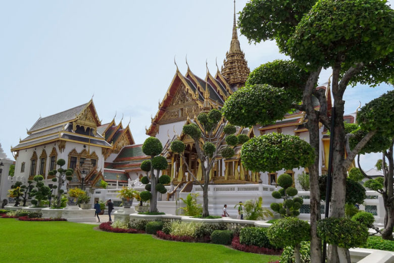 Bangkok Sehenswürdigkeiten Königspalast
