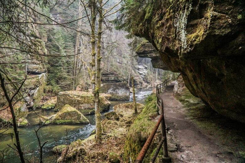 Böhmischen Schweiz Wilde Klamm