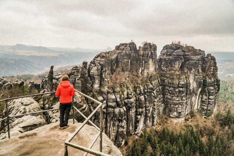 Schrammsteinaussicht Elbsandsteingebirge