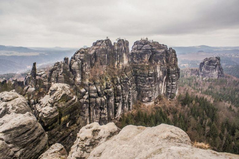Schrammsteine Elbsandsteingebirge
