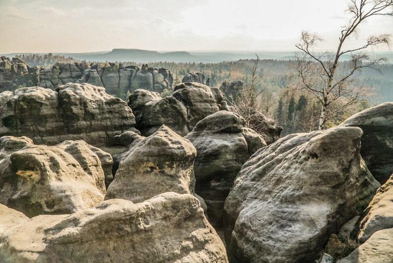 Elbsandsteingebirge Carolafelsen
