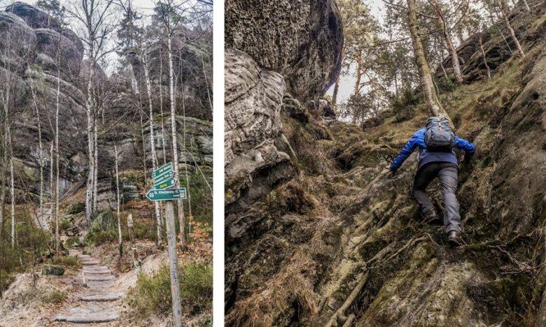 Wandern und Kletter Sächsische Schweiz