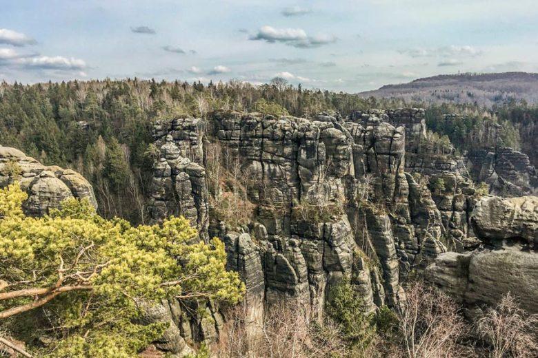 Panorama Elbsandsteingebirge