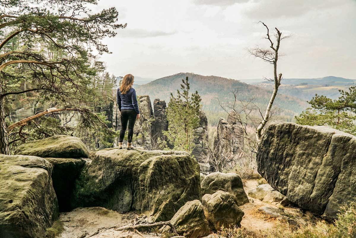 Wandern Im Elbsandsteingebirge Touren Highlights Milchblau