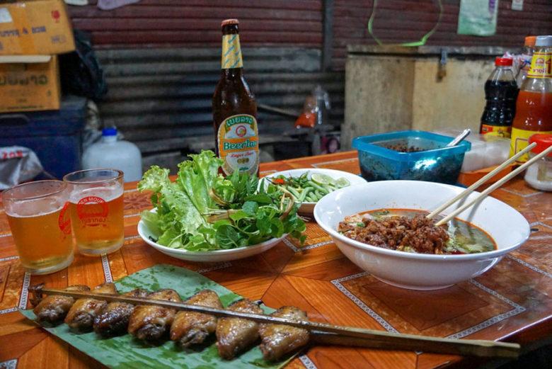 leckeres Essen in Luang Prabang